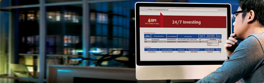 How to Enroll your Existing Investment Account in BPI Expressonline