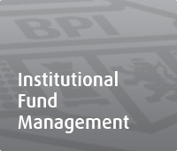 INSTITUTIONAL FUND MANAGEMENT